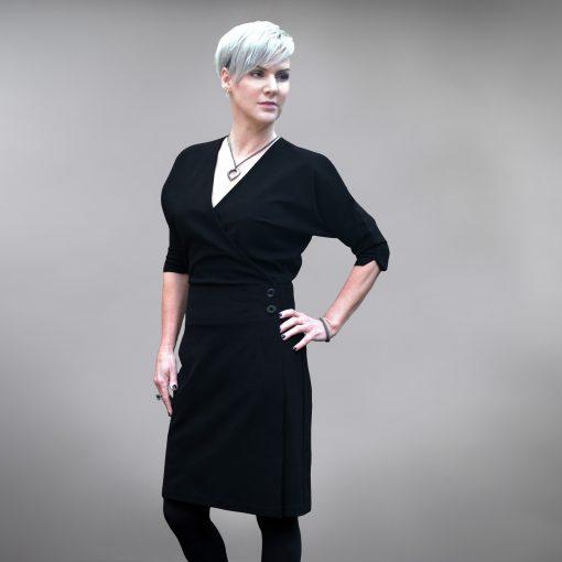 Rowsley Wrap Dress