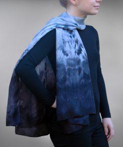 Ashover silk scarf