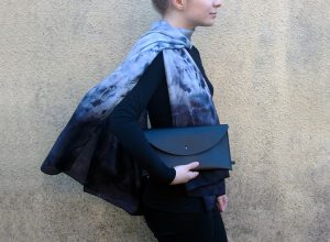 Ashover Silk Scarf and The Derby Clutch