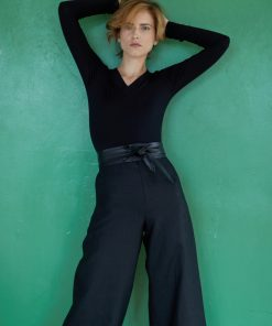 Ashford wide leg linen trousers
